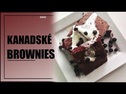 Kanadské Brownies