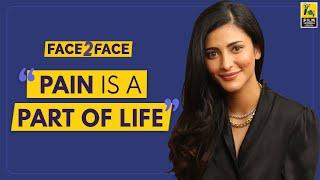 Shruti Haasan Interview With Baradwaj Rangan l Face 2 Face