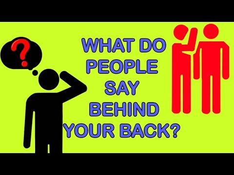 WHAT DO PEOPLE SAY ABOUT YOU BEHIND YOUR BACK? Personality Test | Mister Test