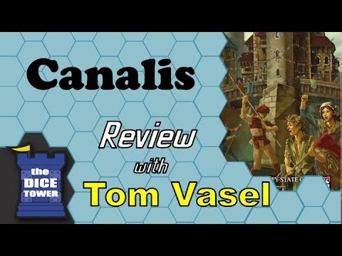 Dice Tower Reviews: Canalis