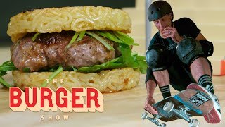 Tony Hawk Skates and Eats Iconic Burgers | The Burger Show