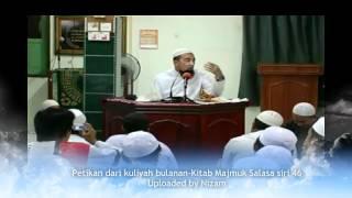 Ustaz Azhar Idrus-Niat Sembahyang/takbir
