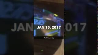 Cowboys Fan Breaks His TV After Loss to Packers