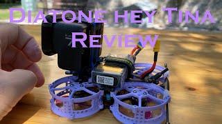 Diatone Hey Tina Review ITA: recensione Mini Drone CineWhoop Betaflight, Tira su una Gopro intera?