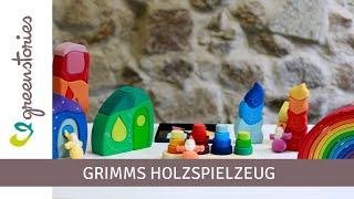 Grimms Holzspielzeug | Grimms Regenbogen & mehr Montessori Spielzeug