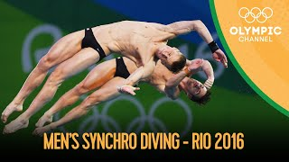 Diving: Mens Synch 10m Platform - Full Competition | Rio 2016 Replays