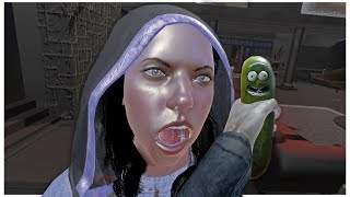 Pickle Rick Mod on Blade and Sorcery VR 4K