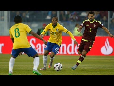Copa America 2015 – Brazil vs Venezuela (2-1) / All goals and highlights