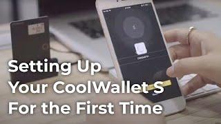 Первоначальная настройка CoolWallet S