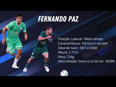 DVD Fernando Paz 2020