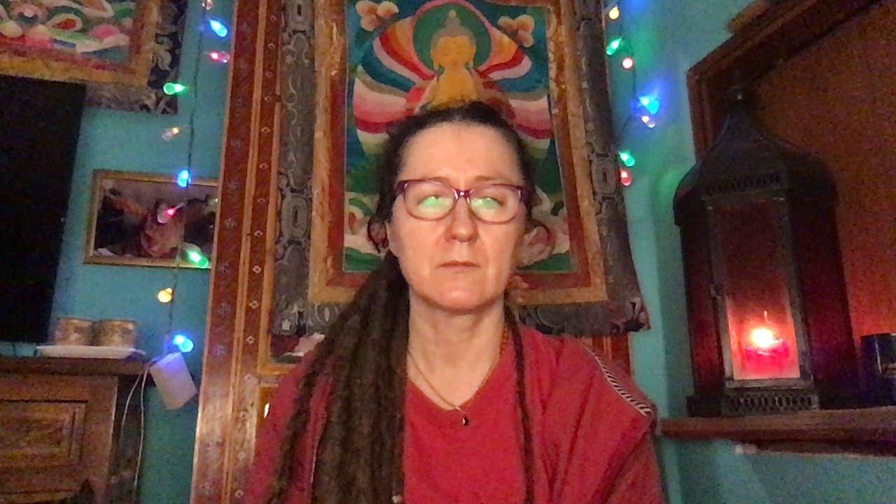 Lama Gangchen Tantric Self-Healing 2- Commentary by Lama Caroline - part 28 (EN)