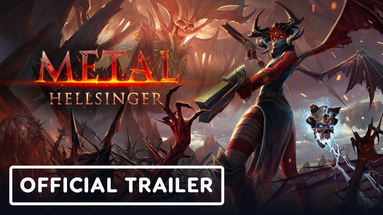 Анонсирующий трейлер игры Metal: Hellsinger