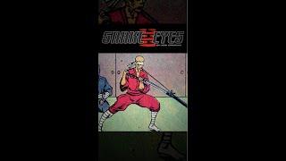 Snake Eyes - Hard Master Comic Book Piece