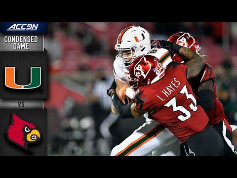 Miami vs. Louisville Condensed Game | 2020 ACC Football