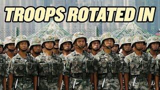 """Chinese Troops """"Rotate"""" Into Hong Kong thumbnail"""