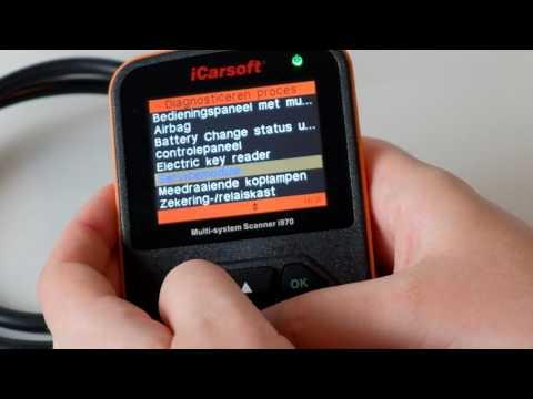 iCarsoft i970 PSA Citroen C4L uitleesapparaat OBD2 uitlezen modules