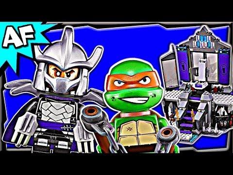 Vidéo LEGO Tortues Ninja 79122 : L'échapée de la tanière de Shredder