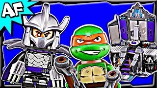 SHREDDER'S LAIR Rescue 79122 Lego Teenage Mutant Ninja Turtles Animated Building Review
