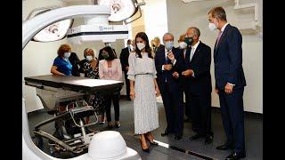 """Inauguración del """"Botton-Champalimaud Pancreatic Cancer Centre"""", junto a Su Excelencia el Presidente de la República Portuguesa, Marcelo R"""