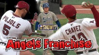 MLB The Show 17 Angels Franchise EP2 Home Opener and Prospect Spotlight Matt Thaiss MLB 17