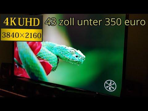 Telefunken D43U600M4CW 4K smart-TV LED Fernseher/ Unboxing und erster Eindruck[german]