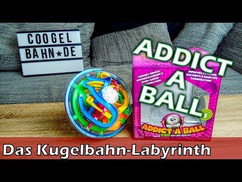 Addict A Ball 🤪 Das 3D-Kugelbahn-Labyrinth 😤 Geschicklichkeitsspiel für Kinder und Erwachsene