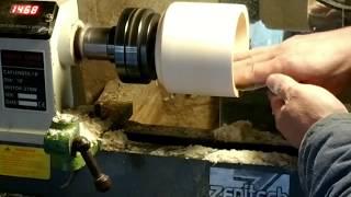 Токарная обработка древесины бюджетным инструментом. Для начинающих резчиков. Woodworking.