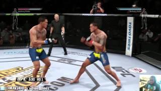 UFC - UFC Gameplay - WAIT A MINUTE | UFC KNOCKOUTS | UFC 2014