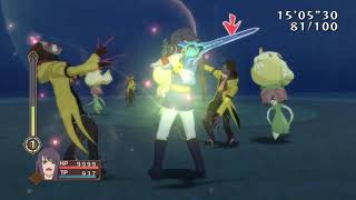 Tales of Vesperia Definitive Edition - 100 Man Melee - All Party (Part 1) (Hard) (PS4)