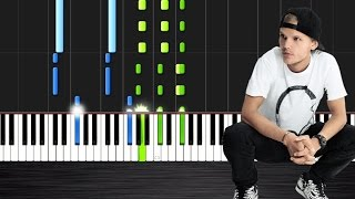 Avicii - Waiting For Love - Piano Cover/Tutorial by PlutaX - Synthesia