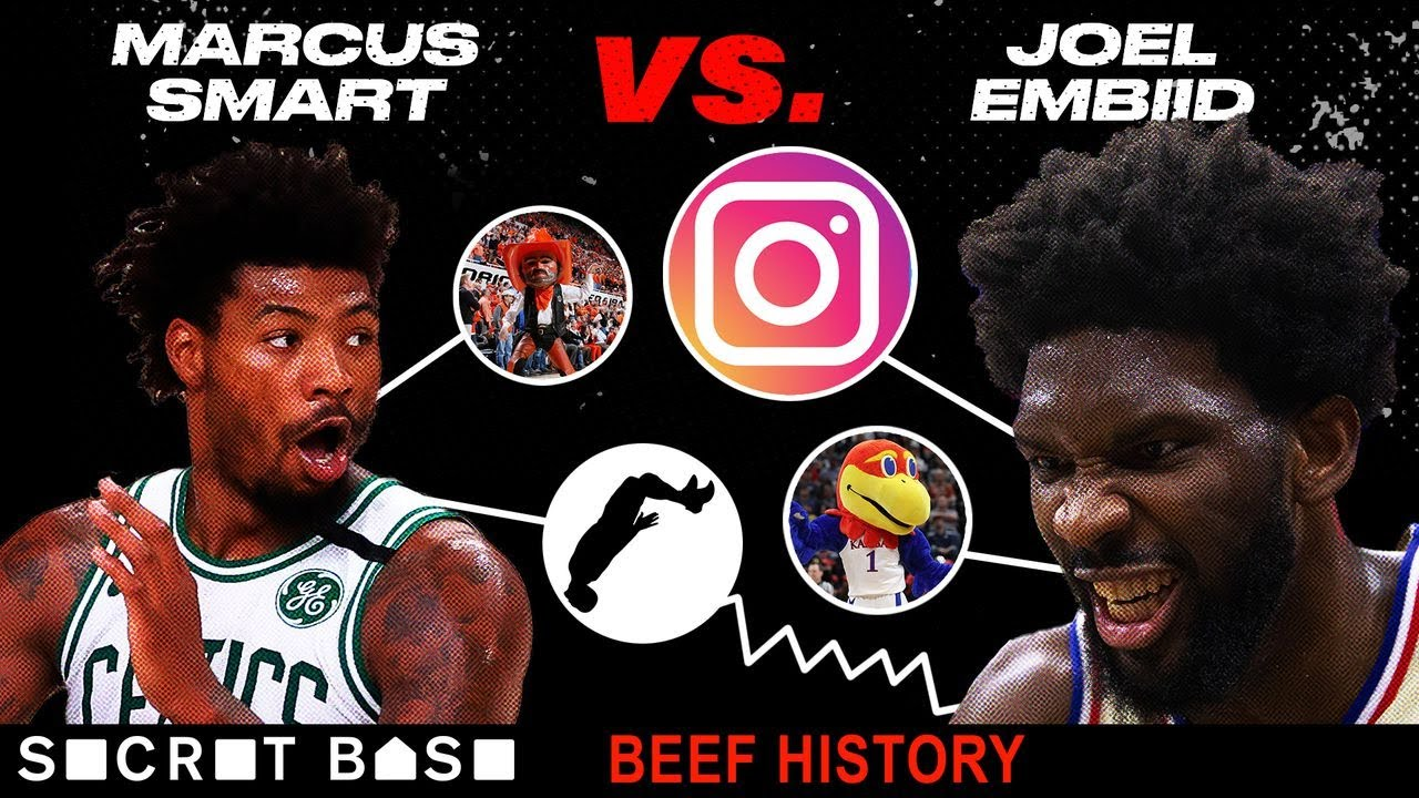 Joel Embiid has beefed with Marcus Smart in college, in the NBA, and all across social media thumbnail
