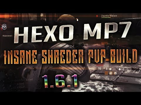 The Division 1.6.1 - THE BEST MP7 HEXO BUILD! MUST USE TALENT! 1 SECOND RELOADS!!! META?