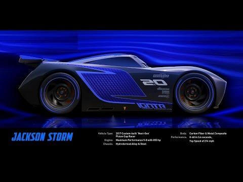 Meet Jackson Storm - DisneyPixar's Cars 3