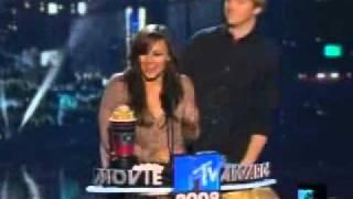 Роберт Хоффман и Бриана Эвиган,а ещё Шаг Вперед 1 , MTV Movie Awards 2008, BEST KISS Брайана Эвиган и Роберт Хоффман