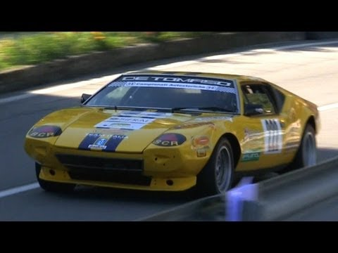 Awesome De Tomaso Pantera & De Tomaso Mangusta Sounds