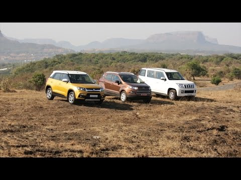 Maruti Suzuki Brezza vs Mahindra TUV300 vs Ford EcoSport - Comparative Test