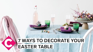 Decorate Your Easter Table With These 7 Quick (and Beautiful!) Tricks