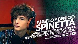 """ANGELO Y BENICIO SPINETTA En #GENERACION   """"Boleto Dorado"""" (Tema En Vivo)"""
