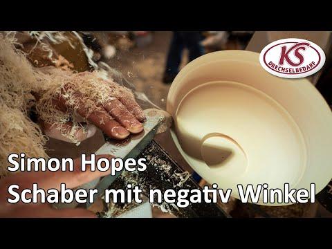 Schaber mit negativ Winkel - Schaber für Schalen | Simon Hope | Stratos FU-230 | Synchro in Deutsch