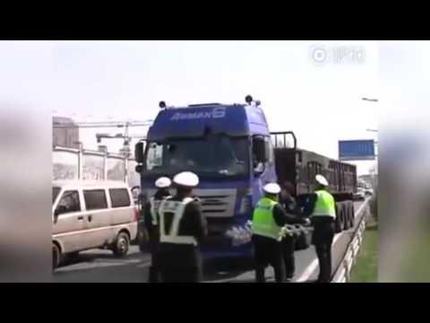 Жесть! Работа китайской полиции