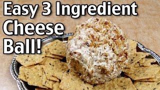 3 Ingredient Cheese Ball Recipe