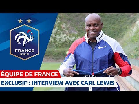 Interview exclusive avec Carl Lewis, Equipe de France I FFF 2019