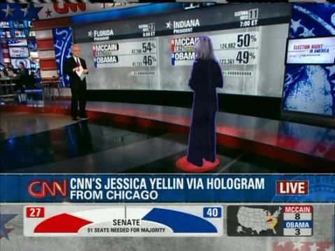 Question of the Day: Was CNN's Hologram Stupid or Cool?