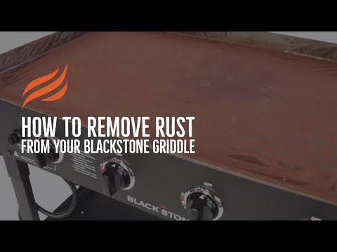 Blackstone - Recovering A Rusted Griddle Top