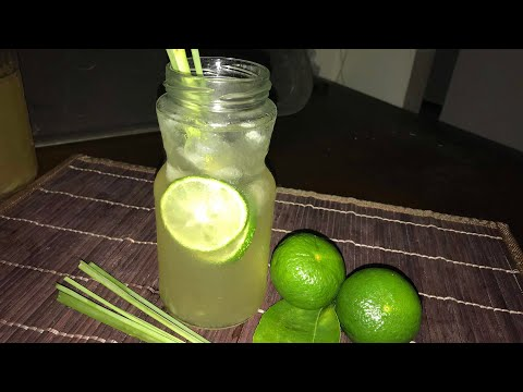 Lemongrass Juice Tea Homemade Recipe -TGK/059
