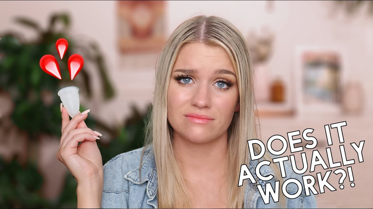 THE DIVA CUP...DOES IT REALLY WORK?! | Samantha Ravndahl