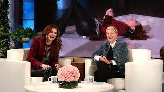 Ellen Scares Debra Messing During 'Speak Out' - Video Youtube