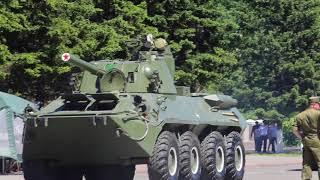 военное ралли 2018, этап в Туве 6-8 июня
