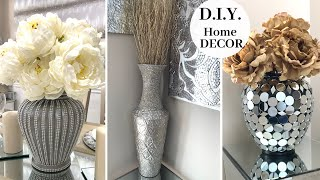 D.I.Y. Home Decor Using THRIFT STORE Items    🤍 Decorating With Metallic Accents 🤍