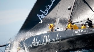 preview picture of video 'Abu Dhabi returns | Volvo Ocean Race 2014-15'